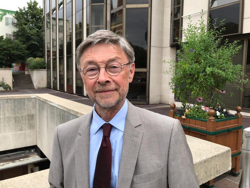 Alain Luca, directeur general des services de la mairie
