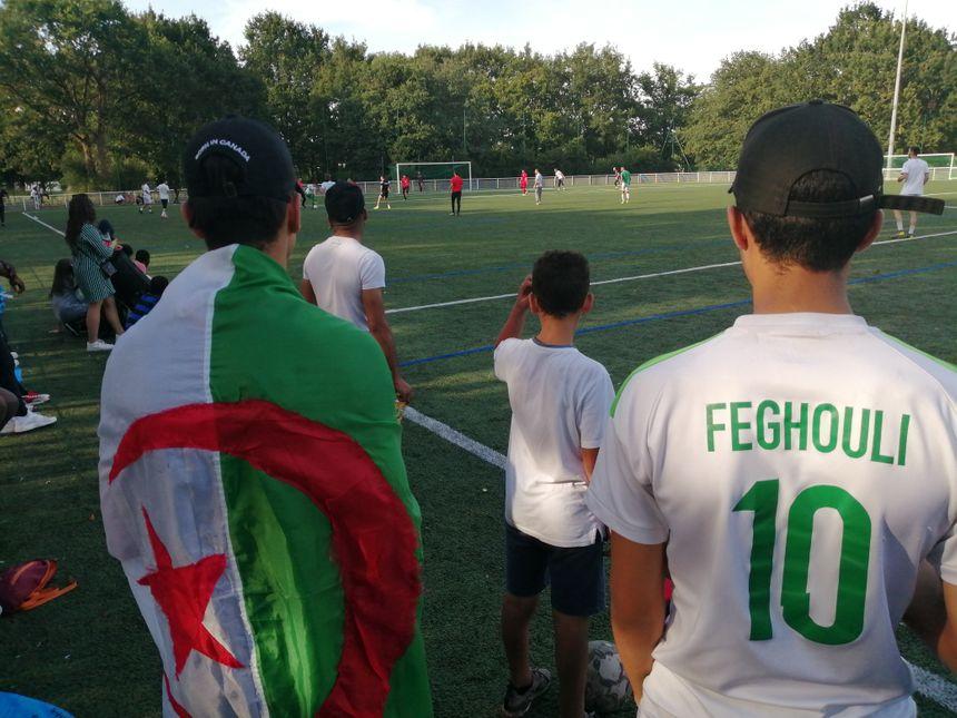 Les supporters algériens sont venus en nombre encourager leur équipe