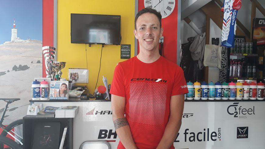 Antoine Morlong, gérant de la boutique Roulez Facile à La Souterraine va équiper le vélodrome de Limoges Métropole