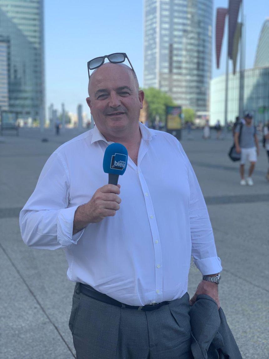 Franck Boucher, directeur de l'attractivité de Paris La Défense