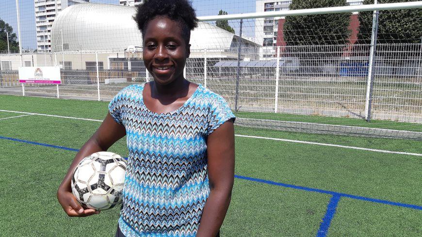 Sebe Coulibaly, footballeuse du RC Saint-Denis et de l'équipe nationale du Mali