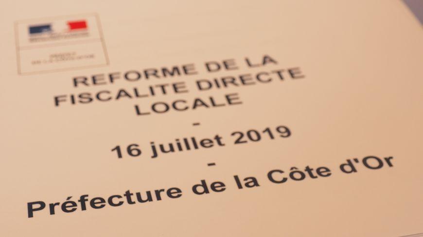Ce 16 juillet, le préfet de la région Bourgogne-Franche-Comté Bernard Schmeltz présentait la réforme de la fiscalité locale directe
