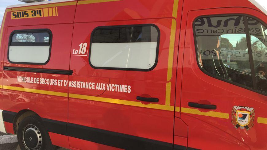 Un véhicule des pompiers de l'Hérault