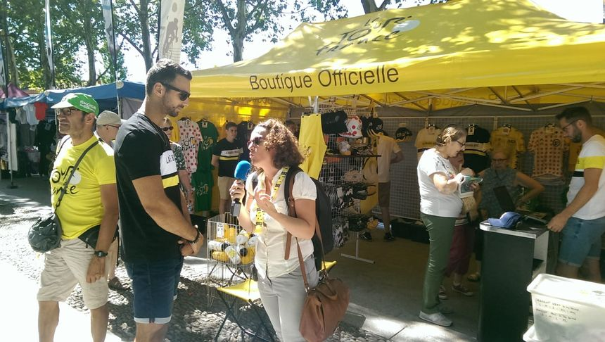 France Bleu Occitanie vous fait vivre le jour de repos des cyclistes du Tour de France dans le Tarn.