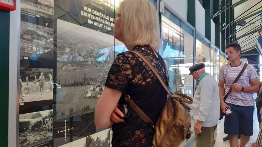 Les touristes ont été nombreux ce mois-ci au musée Airborne à Sainte-Mer-Eglises.
