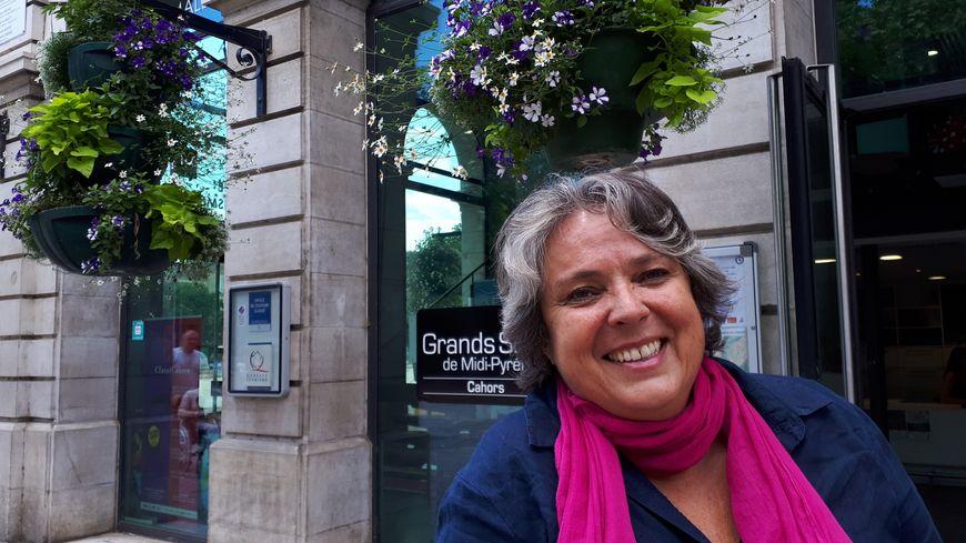 Virginie Seguin Chargée de communication à l'Office de Tourisme de Cahors, St Cirq Lapopie (46)