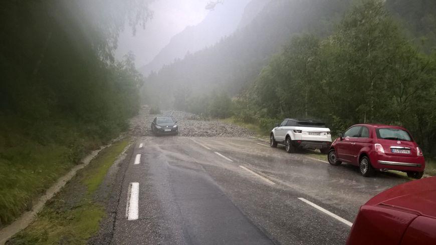 Jeudi soir quatre coulées de boue provoquées par des orages immobilisaient une vingtaine de véhicules sur la RD1091