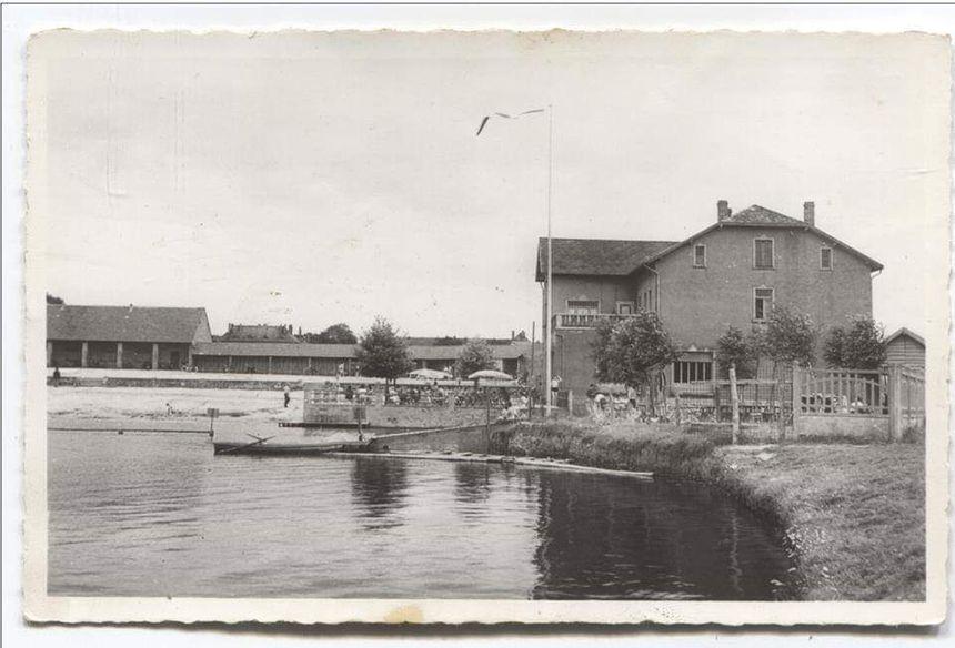 L'étang d'Oderfang avant qu'il ne soit asséché