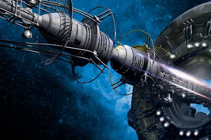 """La survie de l'humanité passera peut-être par des """"arches"""" spatiales qui nous permettront de voyager dans l'espace à la recherche d'une nouvelle planète."""