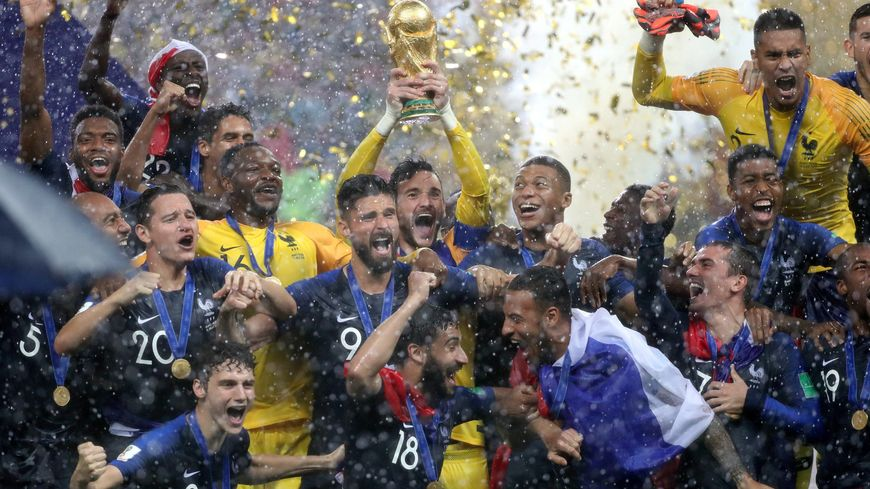 Le 15 juillet 2018 la France battait la Croatie 4-2 en finale de la Coupe du monde.