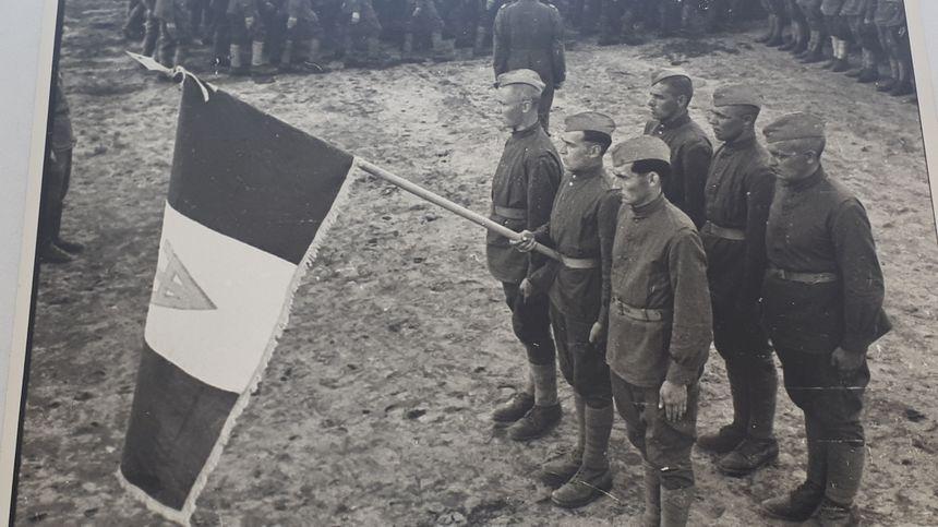 Des malgré-nous de Moselle avant leur libération du camp de Tambov en Russie