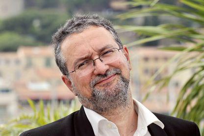 Le critique de cinéma Jean-Michel Frodon au Festival de Cannes en 2008
