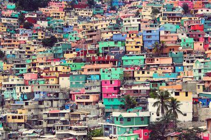 Port-au-Prince. Haïti.