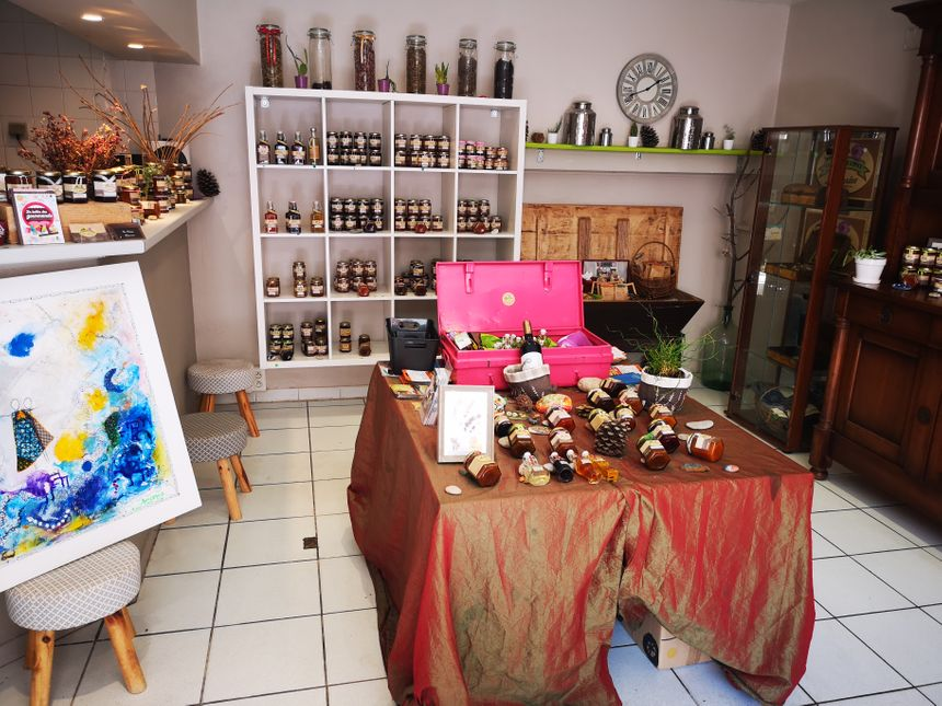 La maison de l'Epice : le magasin de Nadine à Roquebrun - Radio France