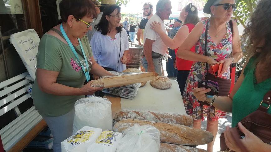 A la Fête du pain on repart avec un pain sous le bras
