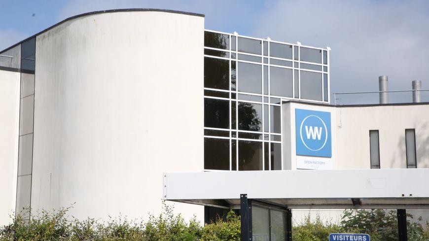 L'entrée du site WN à Amiens