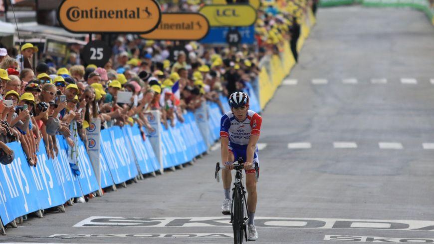 David Gaudu sur le Tour de France