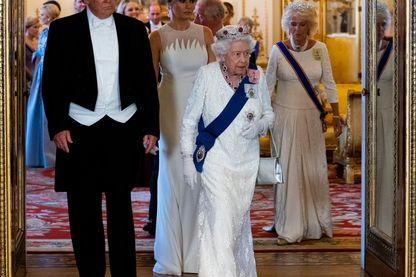 Donald Trump et la Reine Elizabeth le mois dernier à Londres : la « relation spéciale » entre les États-Unis et le Royaume Uni n'est plus ce qu'elle était.