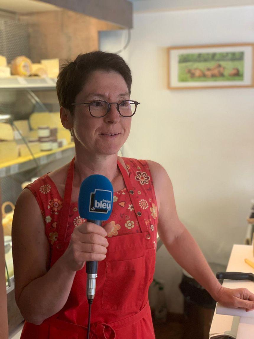 Marie Montini, fromagère crémière à Saint-Arnoult-en-Yvelines