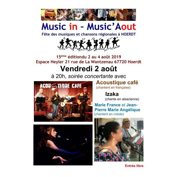 Programme Music in - Music'Aout