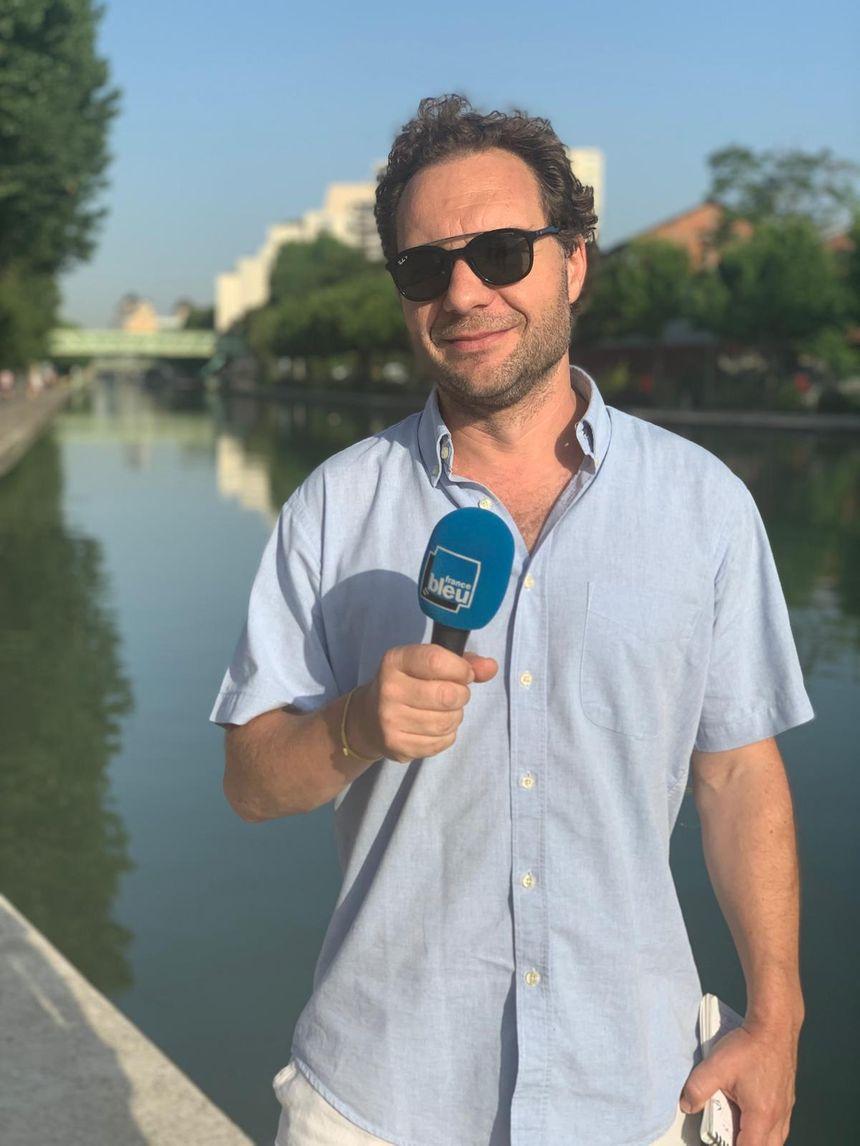 Vincent Chartier, responsable communication à Seine Saint Denis Tourisme
