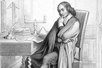 Pascal pensif. En vue de son apologie et en dépit de sa bonne mémoire, Pascal notait ses pensées sur de grandes feuilles, dans le désordre, au hasard de leur venue