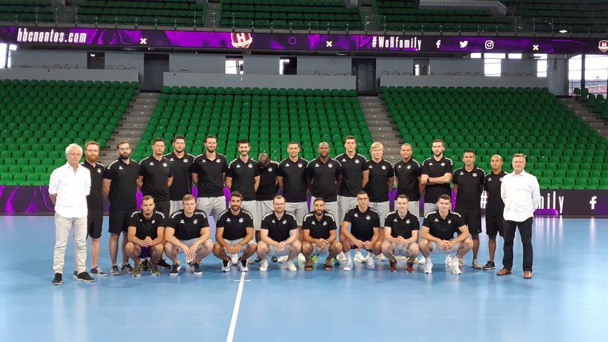 Les joueurs du HBC Nantes ont fait leur rentrée, ce lundi, à la H Arena avant de partir pour leur premier stage de préparation.