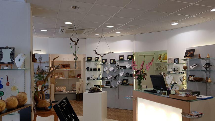 une boutique d'artisans en plein coeur de La Souterraine