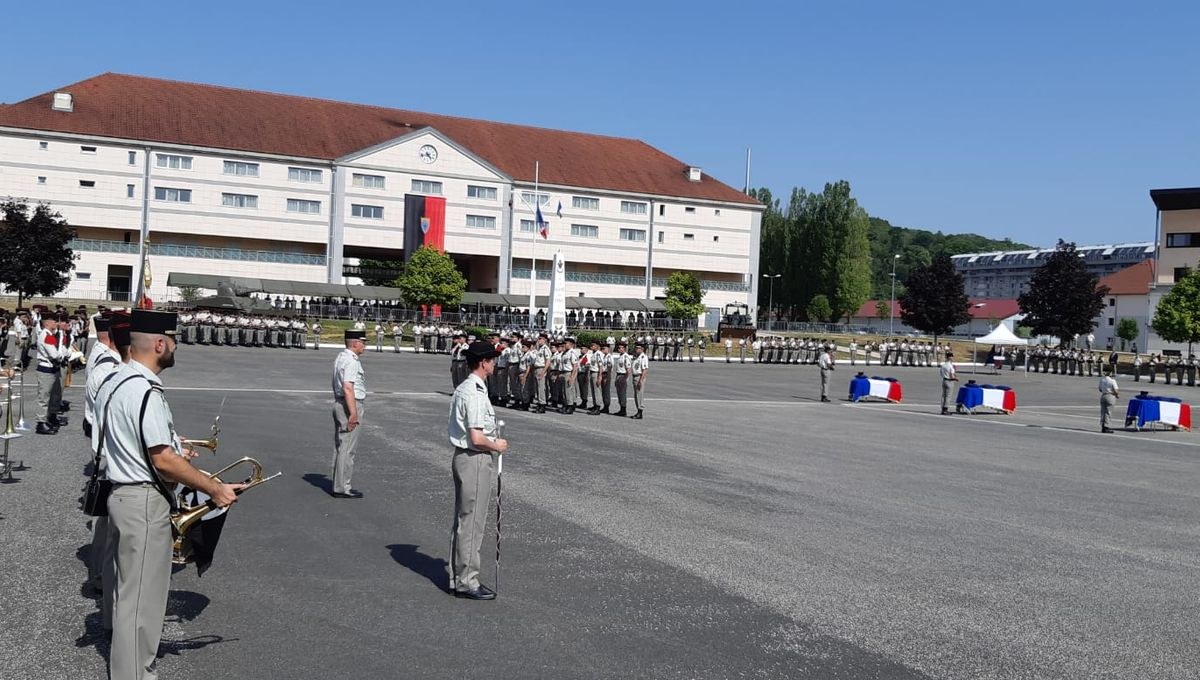 Besançon : l'hommage aux trois militaires tués en Guyane