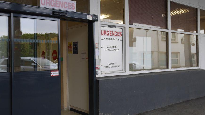 Les urgences de l'hôpital de Die.