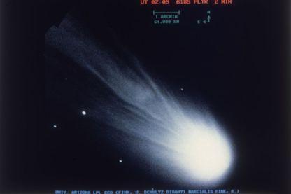 Le 20 janvier 1986, la comète de Halley passe à proximité de la terre comme tous les 76 ans