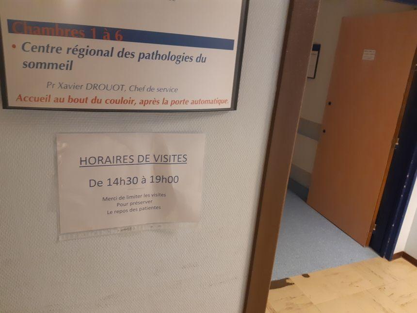 Au centre des troubles du sommeil du CHU de Poitiers.
