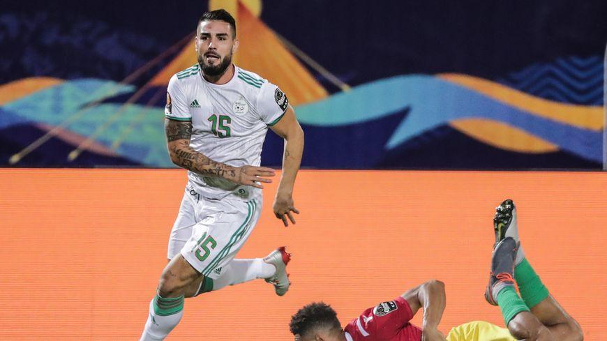 Andy Delort, international algérienà la Coupe d'Afrique des Nations