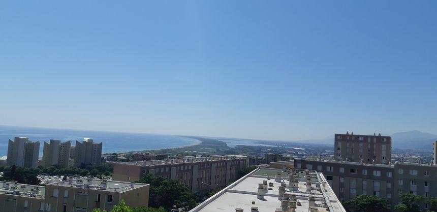 La vue depuis l'appartement d'Eliane.