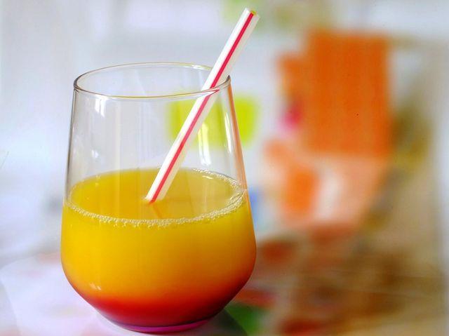 Les jus de fruits, pas plus d'un verre par jour