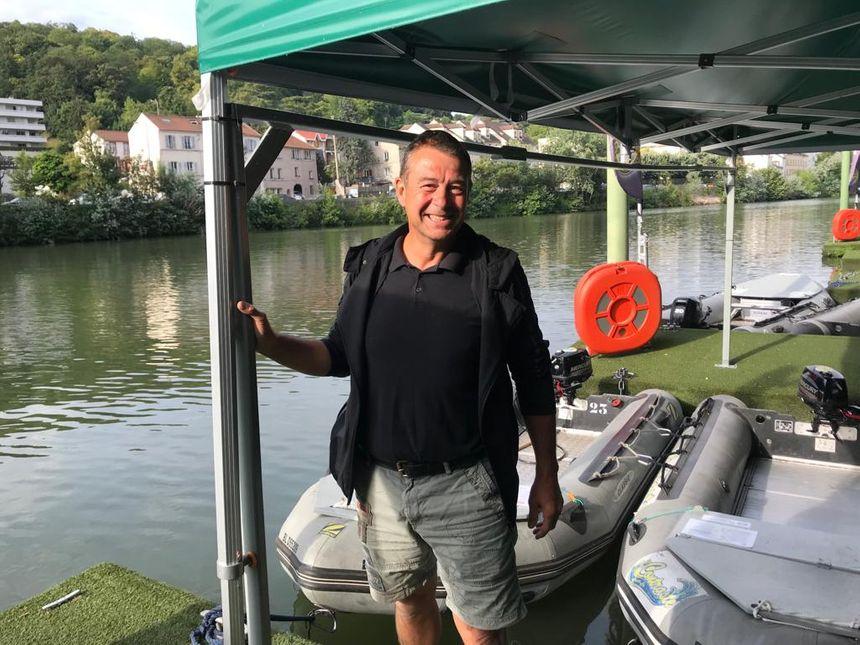 Thierry Brosse, ldirecteur du Nautic Park