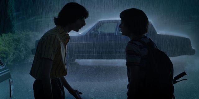 """Finn Wolfhard et Noah Schnapp dans """"Stranger Things"""", saison 3"""
