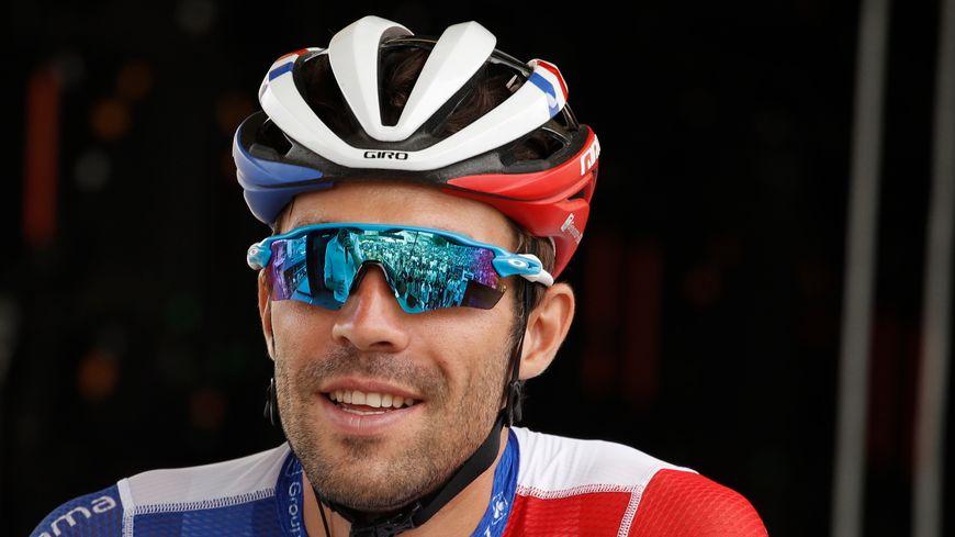 Thibaut Pinot pendant le Tour de France 2019.