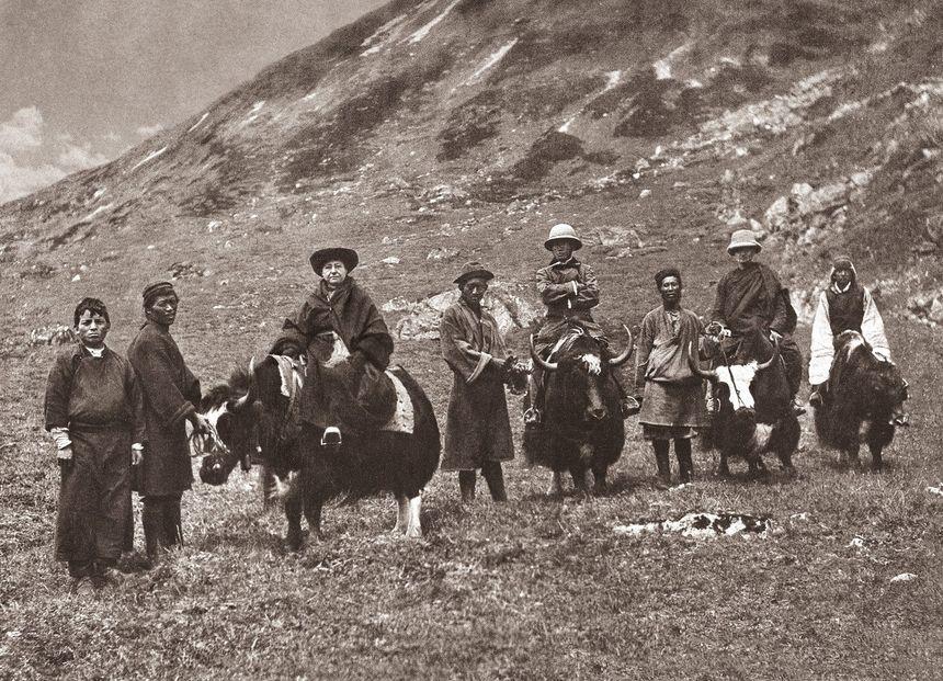 Alexandra David-Neel en Himalaya