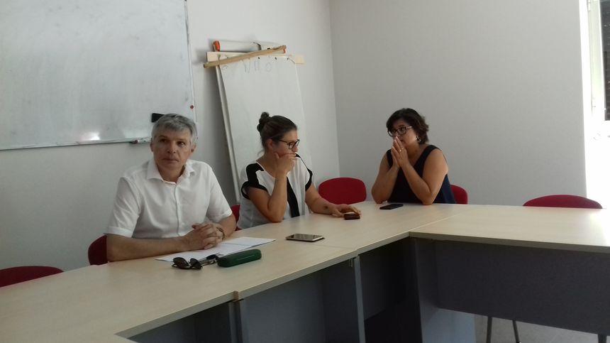 Le syndicat Force Ouvrière organisait une conférence de presse ce jeudi