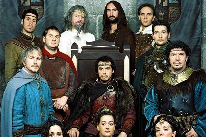 """Casting de la série """"Kaamelott"""", créée par Alexandre Astier, diffusée de 2005 à 2009 sur M6."""
