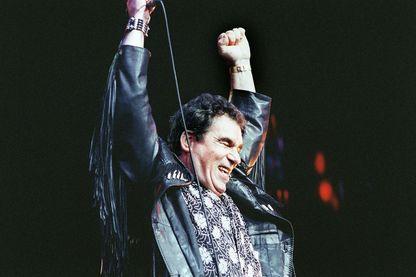 Claude Nougaro, le grand retour avec Nougayork (ici, en février 1990, sur la scène de l'Olympia à Paris)