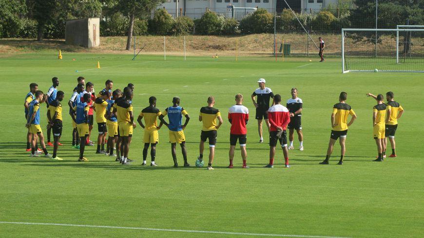 1er discours d'avant-match et 1er choix d'équipe à faire pour le staff orléanais avant le coup d'envoi de la saison en Lorraine