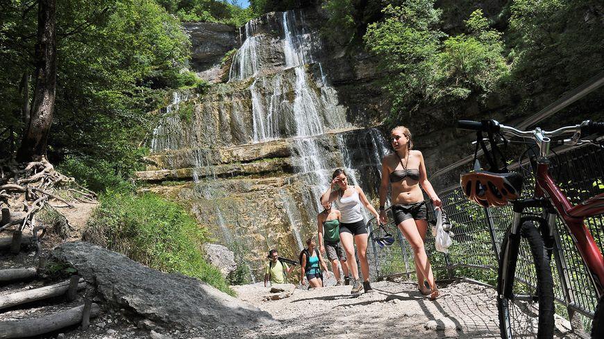 Les cascades du Hérisson, véritable havre de fraîcheur en Franche-Comté