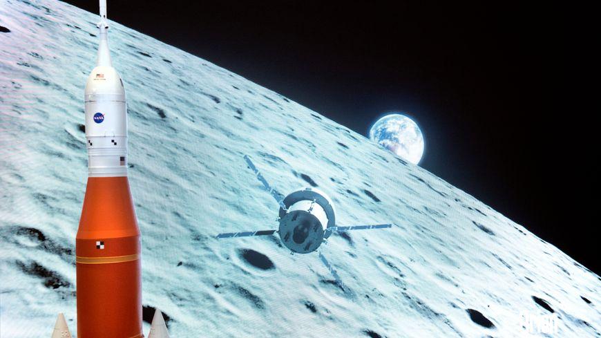 La NASA s'apprête à utiliser la fusée SLS pour envoyer des astronautes américains sur la lune en 2024.