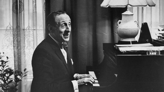 Vladimir Horowitz dans son appartement de New York vers 1965