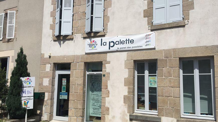 Le local du centre-social à Dun-le-Palestel (Creuse)
