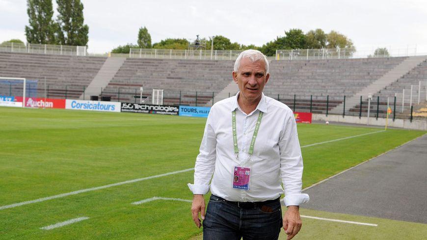 Le président du Tours FC, Jean-Marc Ettori