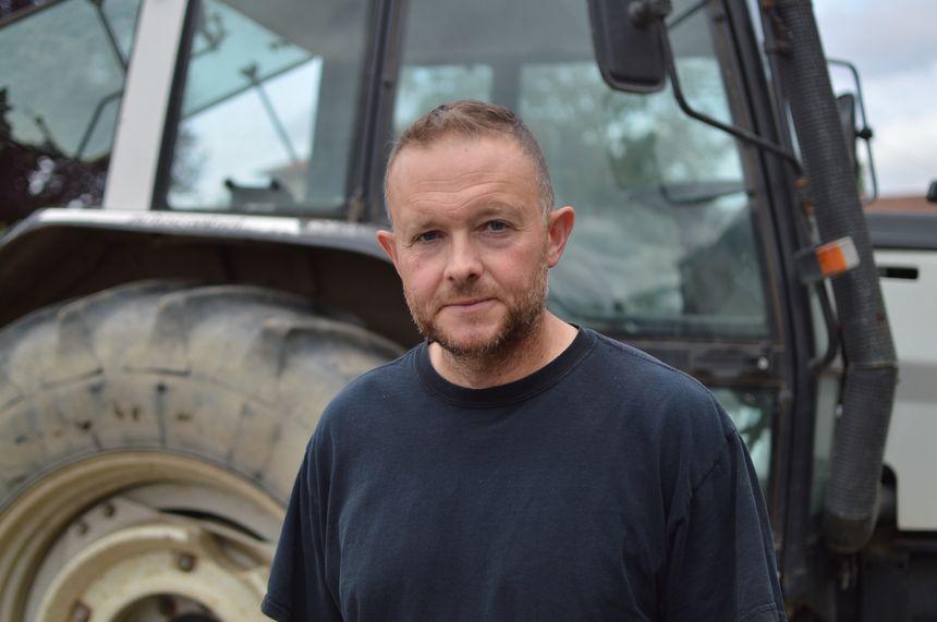 Fabrice Couturier, le président de la FDSEA, le syndicat agricole, en Moselle.