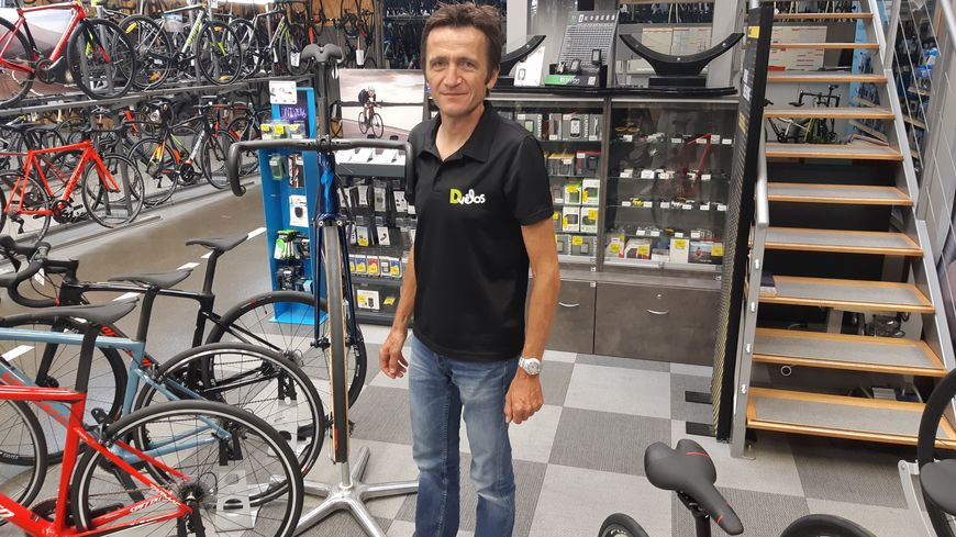 Jean-François Berthier, Savoyard fondu de vélo